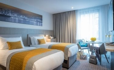 Twin room at Maldron Belfast City