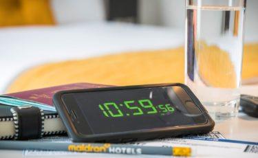 Items on desk in bedroom